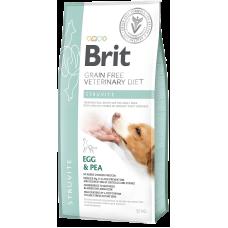 Купить Brit VDD Grain Free Struvite беззерновая диета с яйцом и горохом при струвитном типе мочекаменной болезни у собак