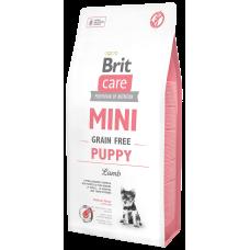 Купить Brit Care Mini Grain Free Puppy Lamb беззерновой корм с ягненком для щенков миниатюрных пород