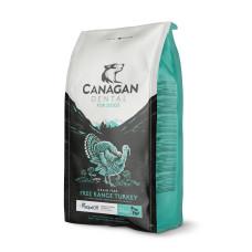 Купить Canagan GF Free-Run Turkey Dental беззерновой корм для щенков и собак всех пород, уход за полостью рта (c индейкой)