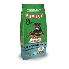 Clan Family сухой корм для взрослых собак крупных пород (с курицей)