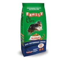 Clan Family сухой корм для взрослых активных собак (с курицей)