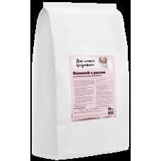 Для самых преданных сухой корм с ягненком и рисом для взрослых собак всех пород