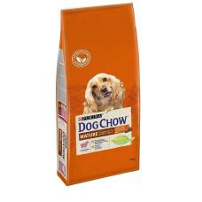 Купить PURINA DOG CHOW Mature для собак старшего возраста (5-9 лет) с ягненком