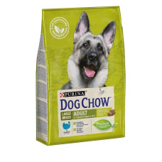 Купить PURINA DOG CHOW Large Breed Adult с индейкой для взрослых собак крупных пород