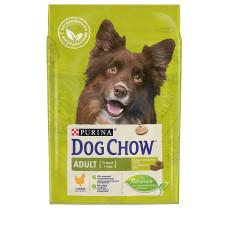 PURINA DOG CHOW Adult для взрослых собак (1-5 лет) с курицей
