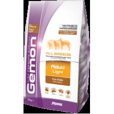 Gemon Dog Light сухой корм для взрослых собак, склонных к полноте