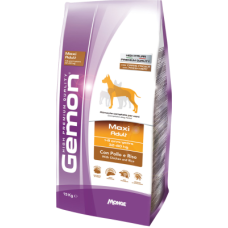 Gemon Dog Adult Maxi сухой корм с курицей и рисом для взрослых собак крупных пород