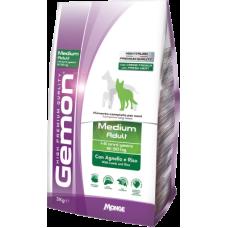 Gemon Dog Adult Medium Lamb & Rice сухой корм с ягненком и рисом для взрослых собак средних пород