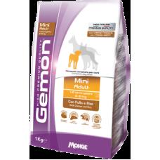 Gemon Dog Adult Mini Chicken сухой корм для взрослых собак мелких пород с курицей и рисом