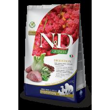 N&D Quinoa Digestion Lamb Adult беззерновой корм с ягненком и киноа для взрослых собак, рекомендуемый при нарушениях переваривания пищи