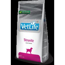 Farmina Vet Life Struvite диетическое питание для собак при мочекаменной болезни для подавления образования и растворения струвитных уролитов