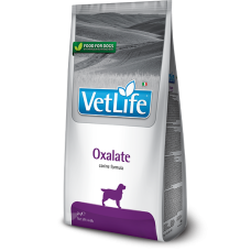 Farmina Vet Life Oxalate диетическое питание для собак для лечения и профилактики мочекаменной болезни уратного, оксалатного и циститного типа
