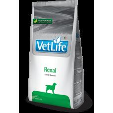 Farmina Vet Life Renal диетическое питание для собак, специально разработанное для поддержания функции почек, в случаях почечной недостаточности