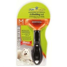 Купить FURminator для собак средних длинношерстных пород Long Hair Medium Dog 7 см