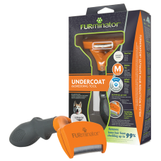 Купить Фурминатор FURminator M для средних собак с короткой шерстью
