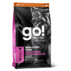 Go! Solutions Skin and Coat Care беззерновой корм для собак всех возрастов с цельной курицей