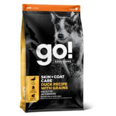 Купить Go! Solutions Skin and Coat Care для собак всех возрастов с чувствительным пищеварением с цельной уткой и овсянкой