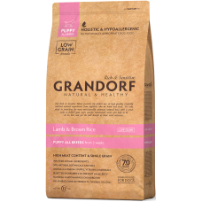 Grandorf Lamb & Brown Rice Puppy All Breeds сухой корм класса холистик с ягненком и рисом для щенков всех пород с 3-х недель