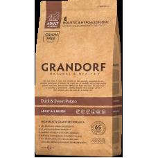 Grandorf Duck & Sweet Potato Adult All Breeds сухой беззерновой корм класса холистик с уткой и картофелем для взрослых собак всех пород от 1 года