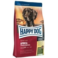Happy Dog Африка сухой корм для взрослых собак с мясом страуса при аллергиях и непереносимости корма