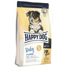 Купить Happy Dog Baby Grainfree сухой беззерновой корм для щенков средних и крупных пород с 4-х недель до 6-ти месяцев