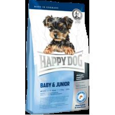 Купить Happy Dog Mini Baby & Junior сухой корм для щенков мелких пород (до 10 кг) с 4-х недель до 12 месяцев