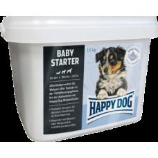 Happy Dog Baby Starter сбалансированное питание для щенков всех пород в возрасте от 4 недель, идеально подходит для плавного перехода на сухой корм