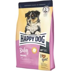 Купить Happy Dog Baby Original сухой корм для щенков средних и крупных пород с 4-х недель до 6-ти месяцев