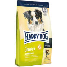 Happy Dog Junior Lamb & Rice сухой корм с ягненком и рисом для юниоров с 7 месяцев