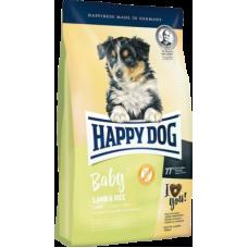 Купить Happy Dog Baby Lamb&Rice сухой корм с ягненком и рисом для щенков всех пород с 4 недель до 6 месяцев