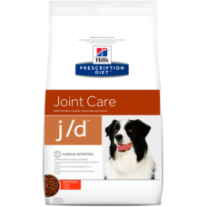 Hill's Prescription Diet Canine j/d диетический рацион для собак при заболеваниях суставов