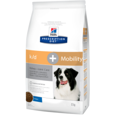 Hill's Prescription Diet  k/d + Mobility Canine диетический рацион для собак при заболеваниях почек и суставов