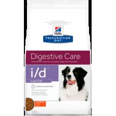 Hill's Prescription Diet i/d Canine Low Fat диетический рацион с низким содержанием жира для собак с заболеваниями желудочно-кишечного тракта