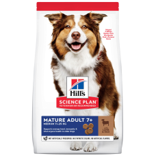 Hill's Science Plan Canine Mature Adult 7+ Active Longevity Lamb & Rice для собак средних пород старше 7 лет с ягненком