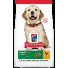 Купить Hill's Science Plan Puppy Healthy Development Large Breed Chicken для щенков крупных пород с курицей