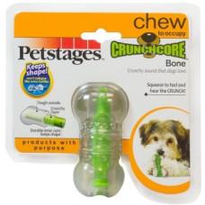 """Купить Petstages игрушка для собак """"Хрустящая косточка"""" резиновая 8 см очень маленькая"""