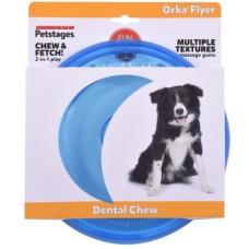 """Petstages игрушка для собак """"ОРКА летающая тарелка"""" 22 см"""