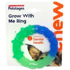 """Petstages игрушка для собак """"ОРКА кольцо - растем вместе"""" мультиповерхность, 15 см"""
