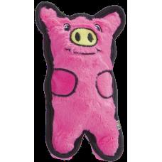 Купить OH игрушка для собак Invinc Mini Свинка без наполнителя с пищалками 12 см