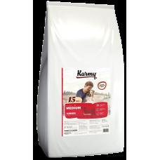 Купить Karmy Medium Junior сухой корм с телятиной, для щенков средних пород в возрасте до 1 года