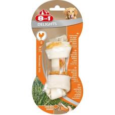 Купить 8in1 DELIGHTS S косточка с куриным мясом для мелких и средних собак 11 см