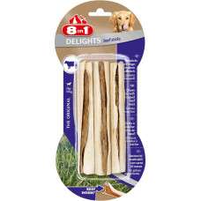 8in1 DELIGHTS Beef палочки с говядиной для мелких и средних собак 13 см 3 шт