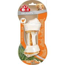 Купить 8in1 DELIGHTS M косточка с куриным мясом для средних и крупных собак 14,5 см
