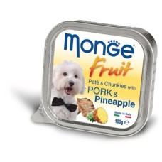 Купить Monge Dog Fruit консервы для собак свинина с ананасом 100г