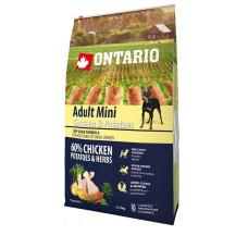 Ontario Dog Adult Mini полноценный сухой корм с курицей и картофелем для собак малых пород