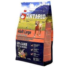 Ontario Dog Adult Large полноценный сухой корм с ягненком, индейкой и рисом для собак крупных пород