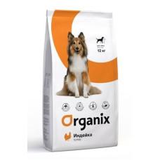 Organix Dog Adult сухой корм с индейкой для собак с чувствительным пищеварением