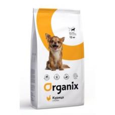 Organix Dog сухой корм для собак малых пород с курицей