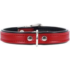 Hunter Smart ошейник для собак Modern Аrt 32/11 (24-28,5 см) кожзам красный/черный