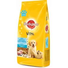 Купить Pedigree сухой корм для щенков всех пород с курицей